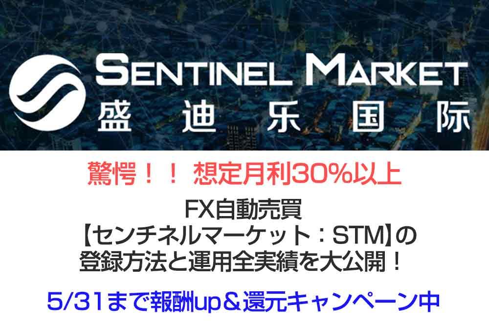 センチネルマーケットの登録方法